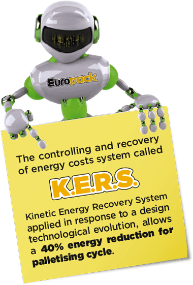 KERS Robot energy saving